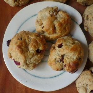 Cranberry and Walnut Puffs